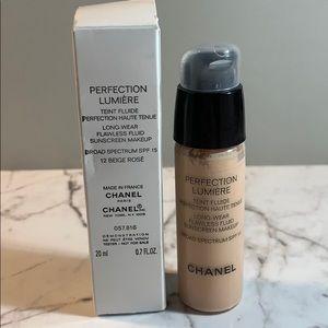 NIB Chanel Perfection Lumiere 12 Beige Rose RARE